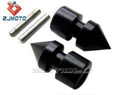Spike Black Swingarm Spools Sliders Motorcycle For Honda CBR600RR 2003-2011