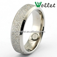 Trendy Metal Steel Wedding Ring Jewerly