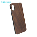 Unique walnut wood+PC mobile shockproof case for iphone8 heavy duty case