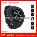 Support SOS function GPS watch tracker support google map
