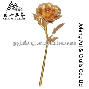 24k gold foil rose promotion gift hot selling in valentine's day