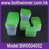 Transparent plastic food container LAuN air-tight food container for sale