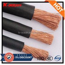 High Quality 16 25 50 70 95 sqmm Flexible Copper Rubber Welding Cable