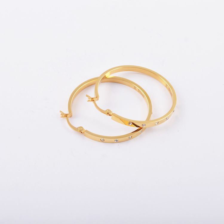 China Good Supplier Discount alloy hoop earring