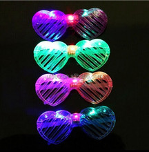 lot Shutters Shape LED Flash Glasses For Dances