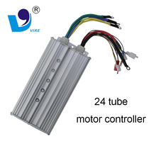 Electric rickshaw spare parts 24 tube 48V/50A dc motor controller for india