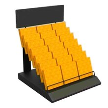 Factory directly durable letter display rack