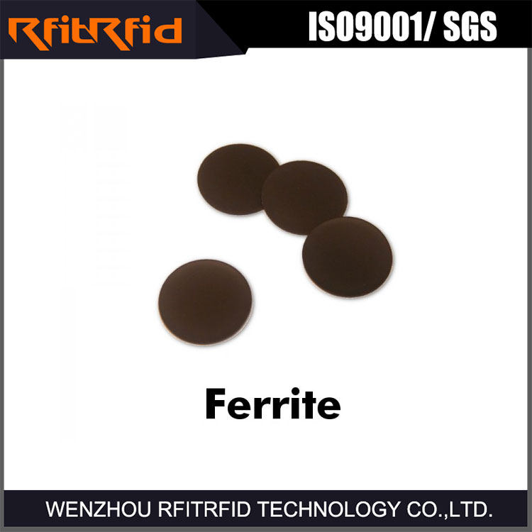 13.56mhz nfc anti metal nfc tag/sticker with ferrite layer for metal