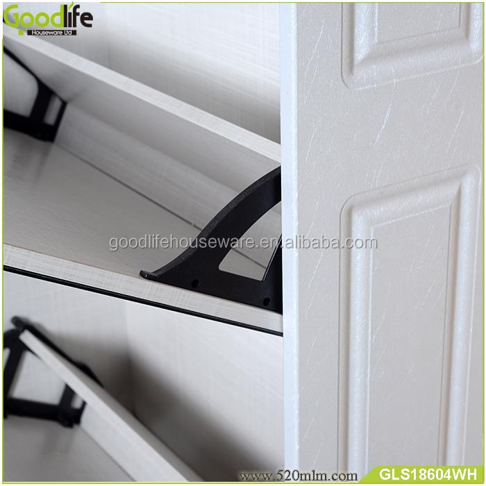 GLS18604mirror shoe cabinet-1
