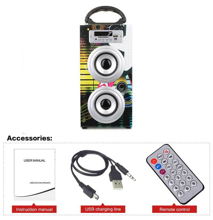 Portable Bluetooth Speaker KBQ-602