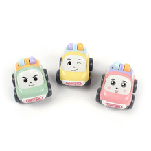 Kids Mini Cute Truck Toy ABS Plastic Friction Cartoon Car Baby Toys for Hot Selling 2019