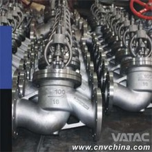 ARI Carbon steel din gs-c25 Bellow Seal Globe Valve