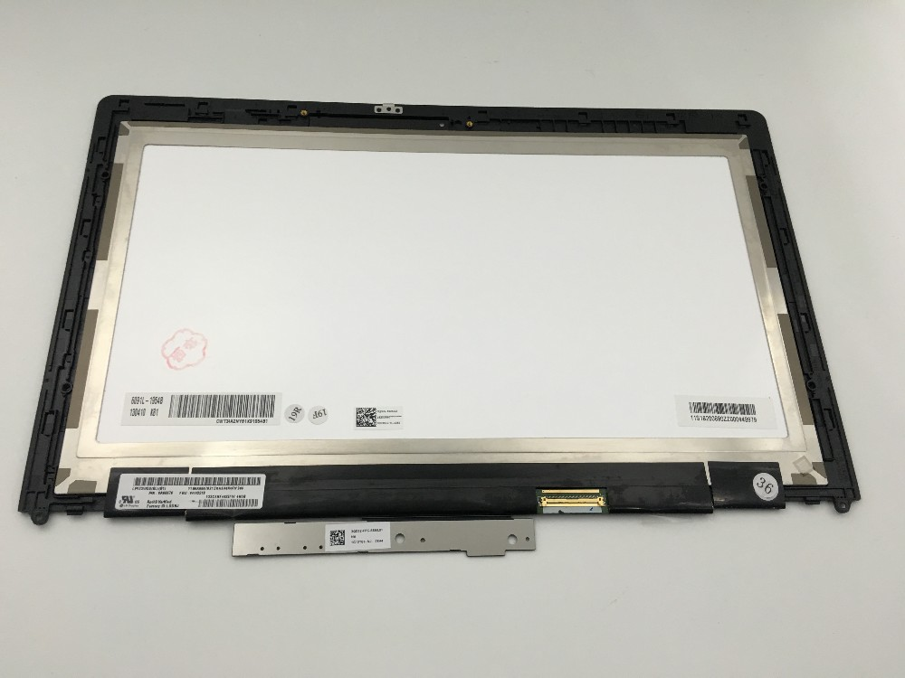 New laptop Lcd display panel with touch digitizer screen assembly and laptop lcd touch screen digitizer for Lenovo Yoga 13