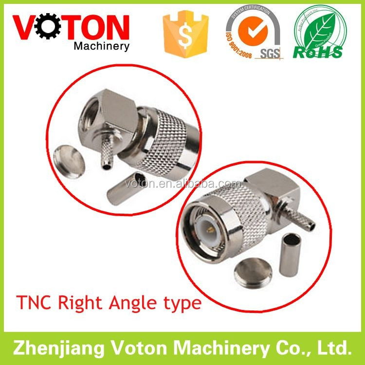 Hot Selling TNC Plug 90 degree right angle RF connector