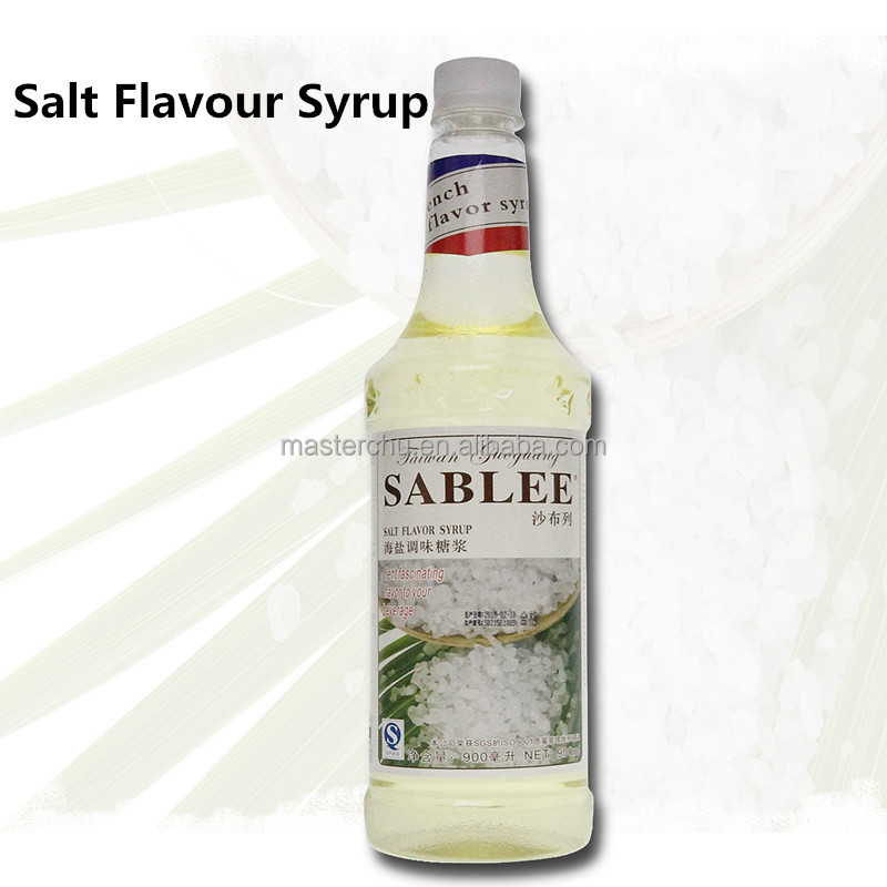 Salt Sugar Syrup for Drinks 900ml