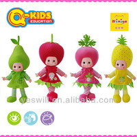 Q-KIDS 18 inches fruit & vegetables dolls