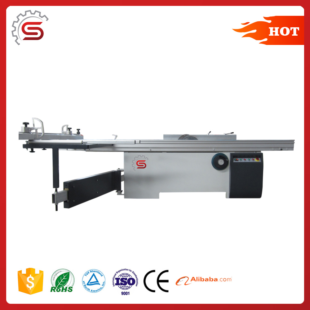 high precision easily operation panel saw MJ6132TD format panel saw machine price