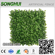 decoration artificial grape vines green hedge plant