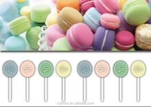 Ice-cream color lollipop free sugar
