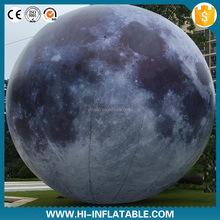 Custom inflatable moon ball,inflatable moon,inflatable moon light balloon
