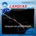 Lanquan hot high quality wholesale assisted hook fishing lure LQTG1410
