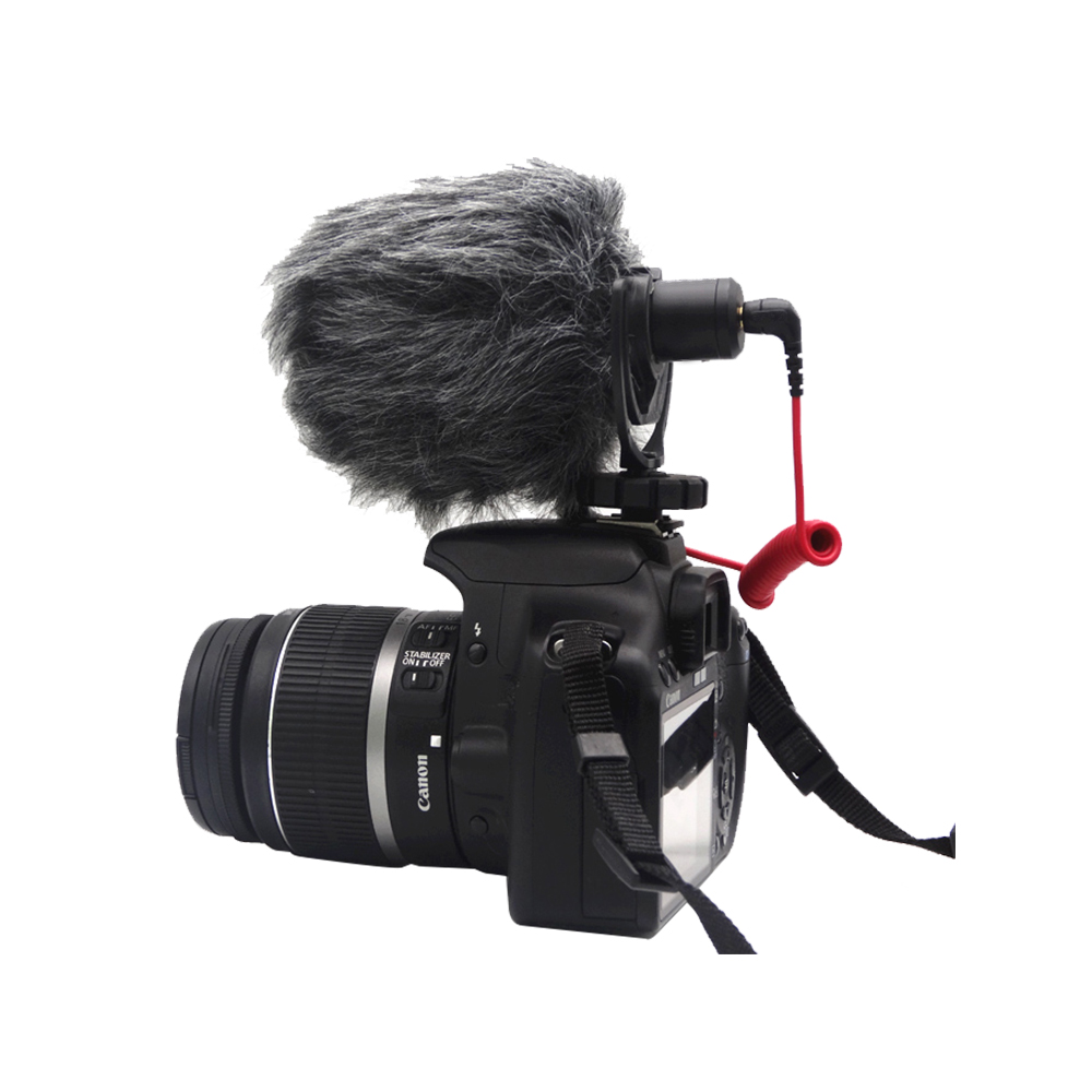 Professional for Rode VideoMicro 5 Compact On-Camera Recording studio Microphone for Canon Nikon DSLR