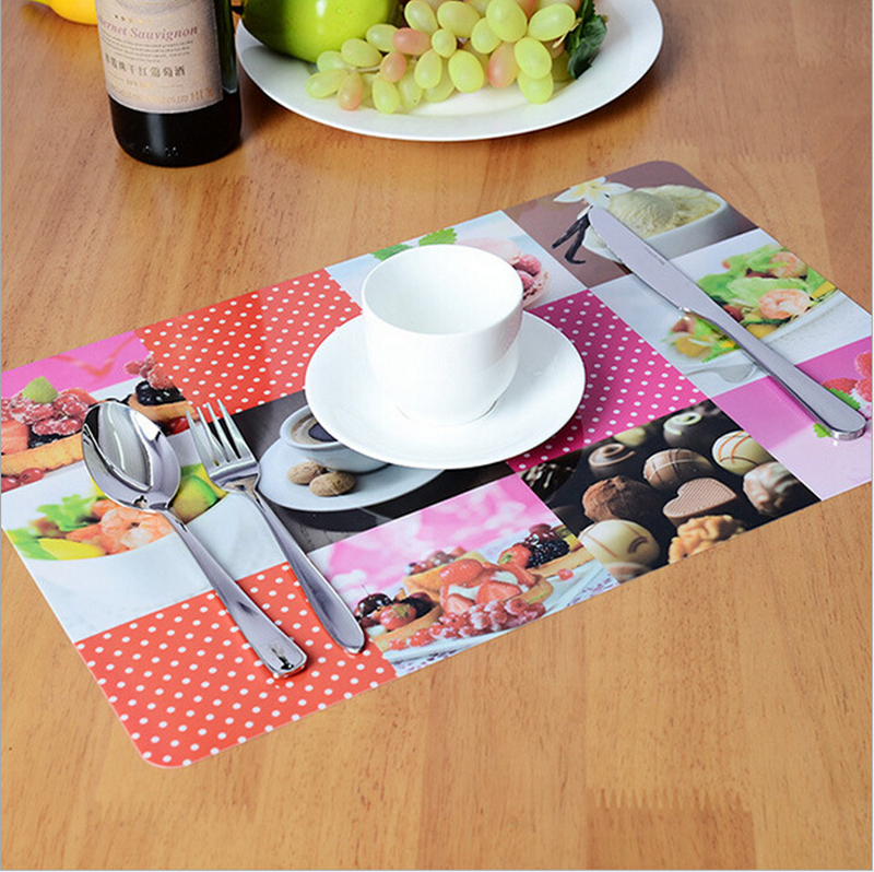 wholesales Printed cantoon design dining eco-friendly plastic PP placemat
