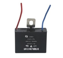 CBB61 Fan Capacitor With Wire and Pin