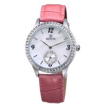 SKONE Brand Vogue Leather Band Top Sell Watch Ladies