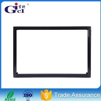 Gicl 5015 50*15 indoor semioutdoor P10 P6 and so on modules slim led advertising screen display frame