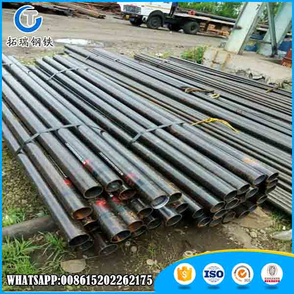 Hot rolled/cold rolled astm a 179/din 2440 seamless steel pipe