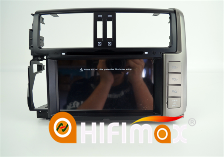 HIFIMAX Android 4.4.4 Touch Screen Car Radio For Toyota Prado 150 (2010-2013) DVD Player GPS Navigation System Bluetooth Wifi