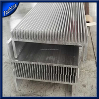 section aluminum radiator