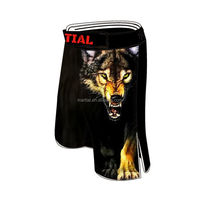 wolf 1.0 good spandex 2015 design wholsale mma shorts