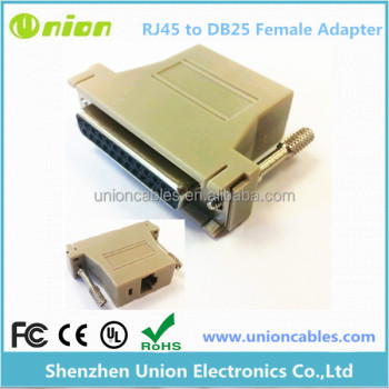 CAB-25AS-MMOD RJ45/DB25 modem adapter