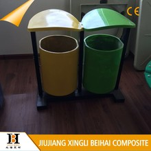 Hot Selling frp dustbin for Downtown street
