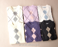 cheap plaid sweater sweater manufacturer in China