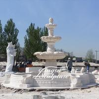 Wholesale stone garden products 3 tiers water fountains