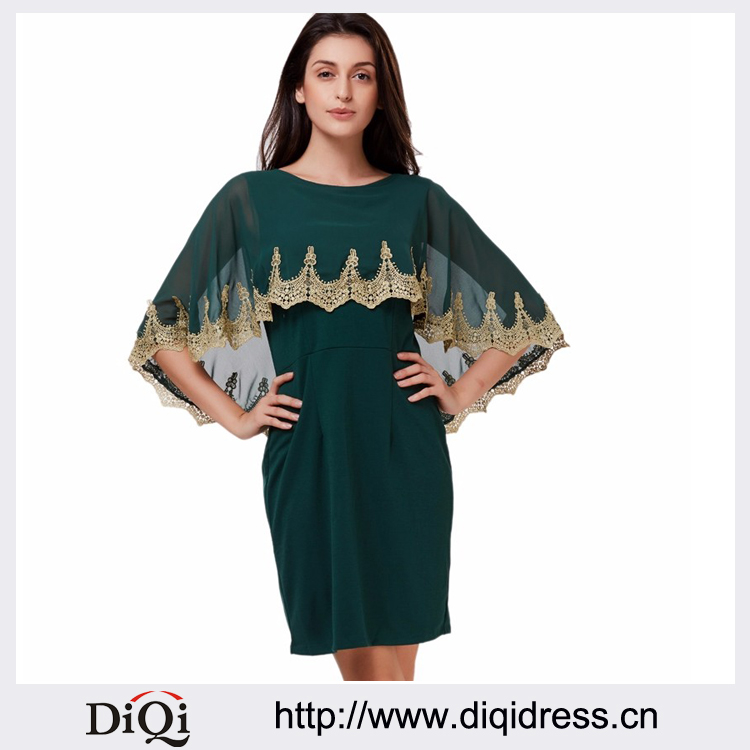 Elegant women dress sexy embroidered hot sale spring summer India style slim long sleeve bodycon dress