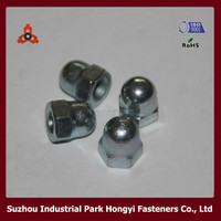 Carbon Steel DIN1587 High Quality Decorative Hex Spherical Union Nut