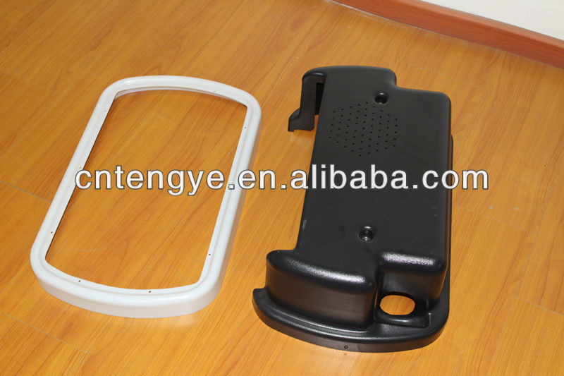 Vacuum thermforming plastic mobile phone cover