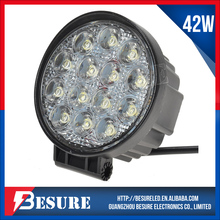 Popular 42W LED Work Light Off-road ATV Motocycle Vehicle 4.5Inch Round LED Headlamp