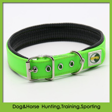 fluo green Stylish waterproof & odor proof dog collars for pets