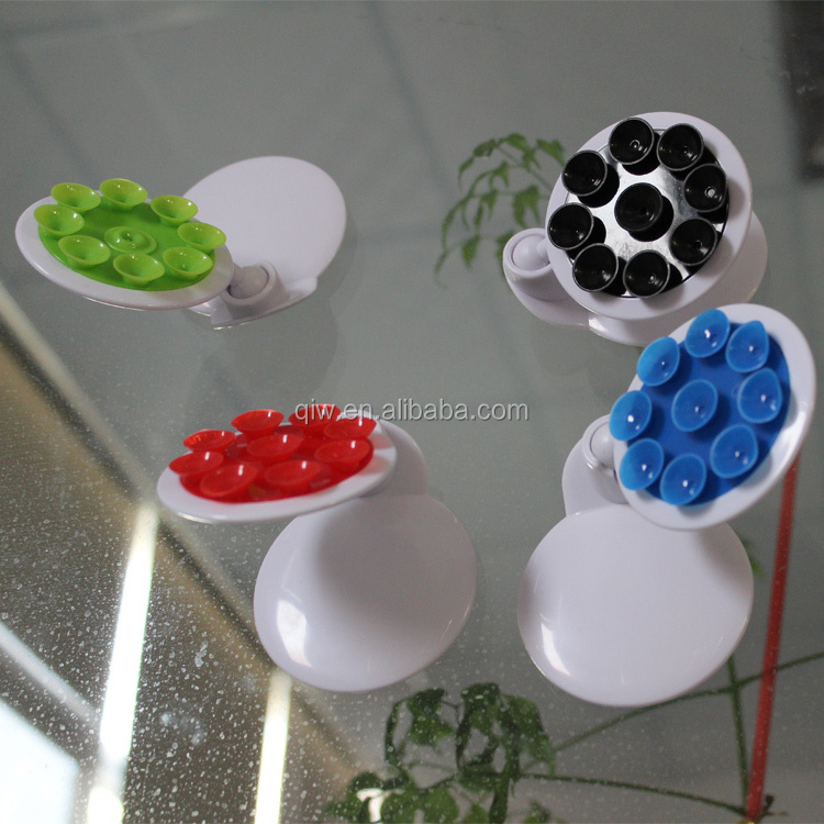 360 rotation sucker suction cups magnetic mobile phone car holders