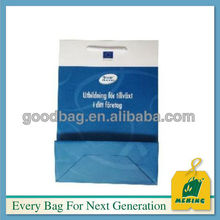 Shopping paper bag hs code/ advertisement paper bag customized