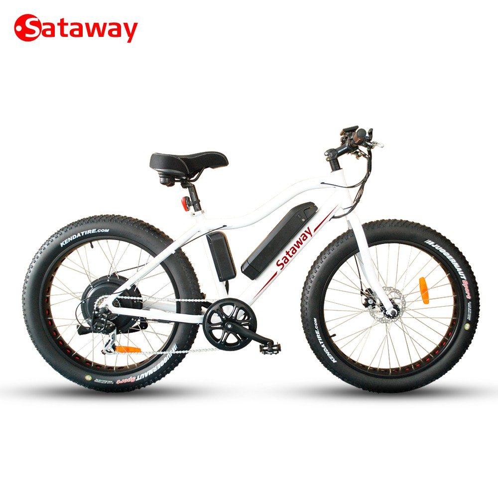 Most popular 48v 500w 750w 1000w snow electric bicycle for wholesale