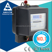 china suppliers DD862 Types of single phase active electrical watt hour KWH electricity meter