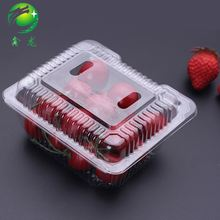 Wholesale Small Clear Plastic Box Container With Lid For Fruit