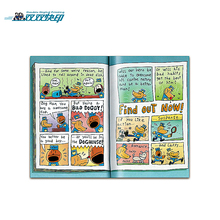 CBP001 custom luxury hardcover fan fanny adult comic book printing