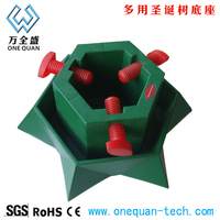 hot wholesale plastic Christmas tree base